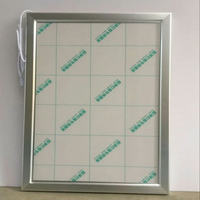 A4 Single Side Silver Aluminum Clip Poster Frame LED Light Boxes for Hotel,Restaurant,Museum,Theather etc