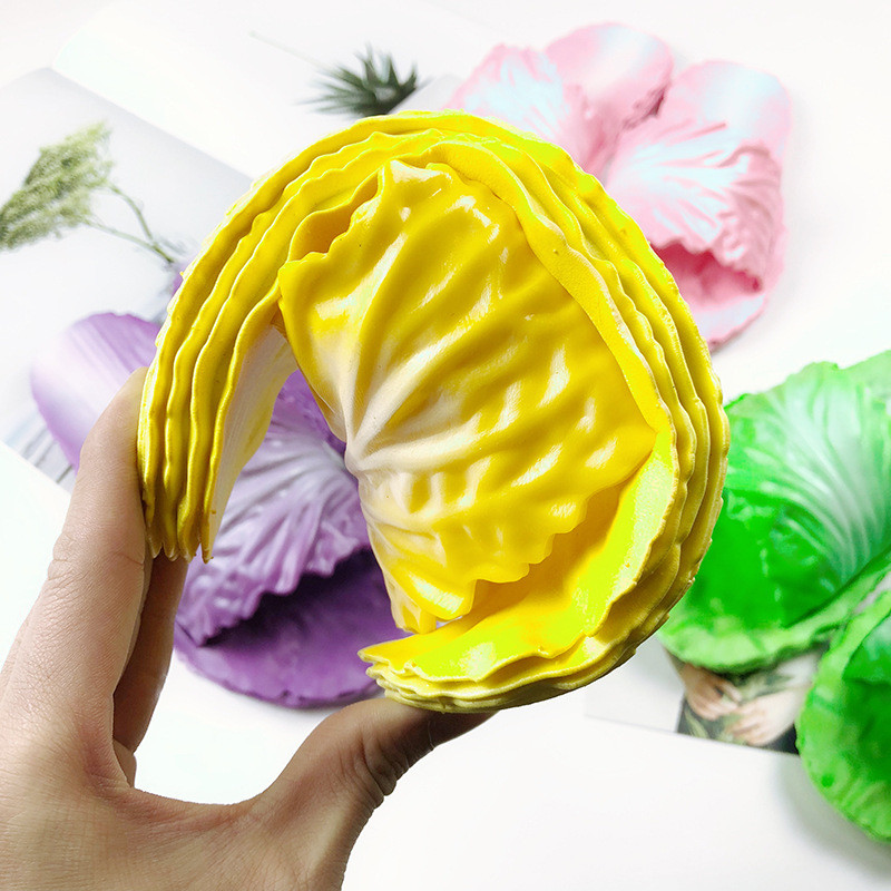Spring and summer creative cabbage home slippers