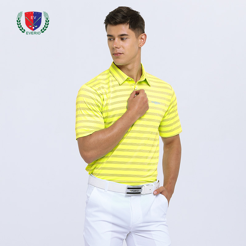 2018 men Golf T shirts color match short Sleeve jersey golf appreal summer sportswear shirt white Golf tops 4 color S~3XL