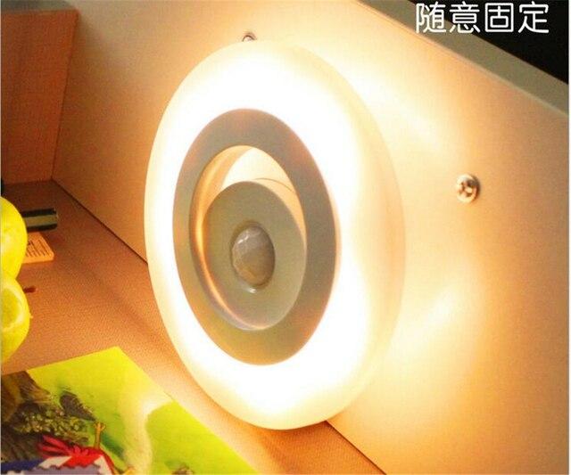 Licht En Bewegingssensor : Bewegingssensor led nachtlampje muur nachtlampje met bewegingssensor