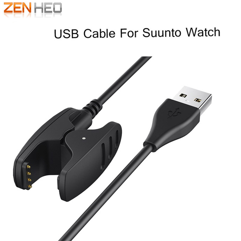 ZENHEO Charger Usb Cable For Suunto Ambit 1/2/3 Smart Watch Fast Charge Clip Adapter Replacement High Quality Chargers