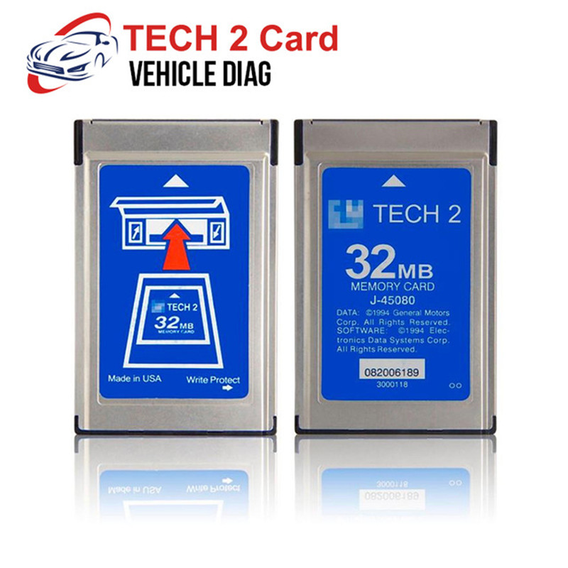 Tech2 Card 32 MB Memory Software Card Optional Diagnostic Tool For GM/Holden/Opel/SAAB/ ISUZU/Suzuki