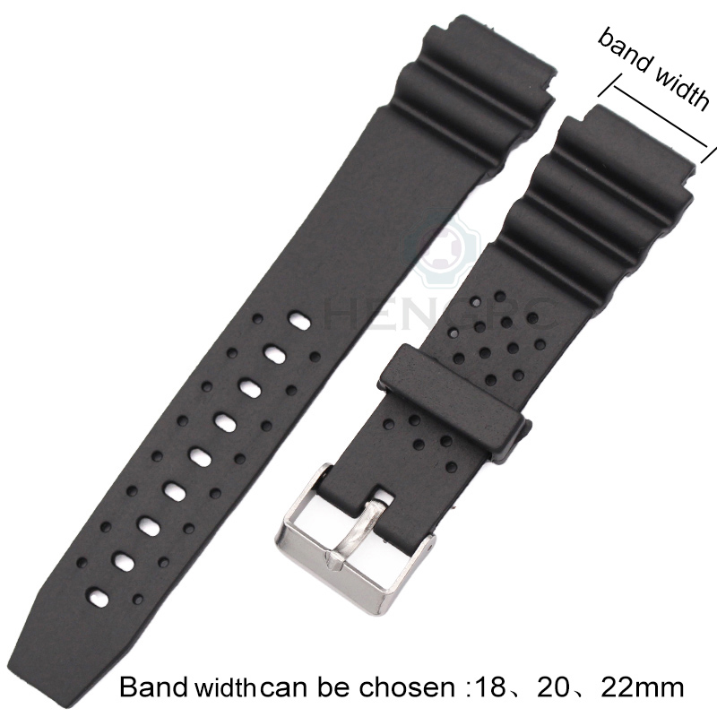 Watchbands 18mm 20mm 22mm Rubber Watch Strap High Qualit Men Sports Silicone Band For Casio Watch Accessories watchbands 18mm 20mm 22mm rubber watch strap high qualit men sports silicone band for casio watch accessories