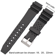 Watchbands 18mm 20mm 22mm Rubber Watch Strap High Qualit Men Sports Silicone Band For Casio Watch Accessories