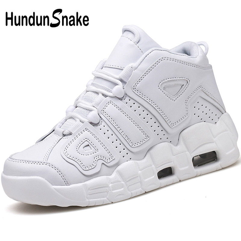Hundunsnake Leather Men Basketball Shoes White Sneakers Men High Top Basket Shoes Athletic Men Sport Shoes For Male 2018 T499 nike men s indee high shoes athletic sneakers leather white