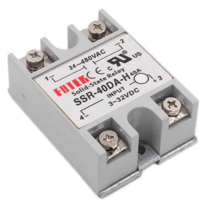 1pcs 90V-480V 40A 250V SSR-40DA-H Solid State Relay Module 3-32V DC To AC SSR-40 DA SSR solid state relay ssr 10da ssr 25da ssr 40da 10a 25a 40a actually 3 32v dc to 24 380v ac ssr 10da 25da 40da high quality new