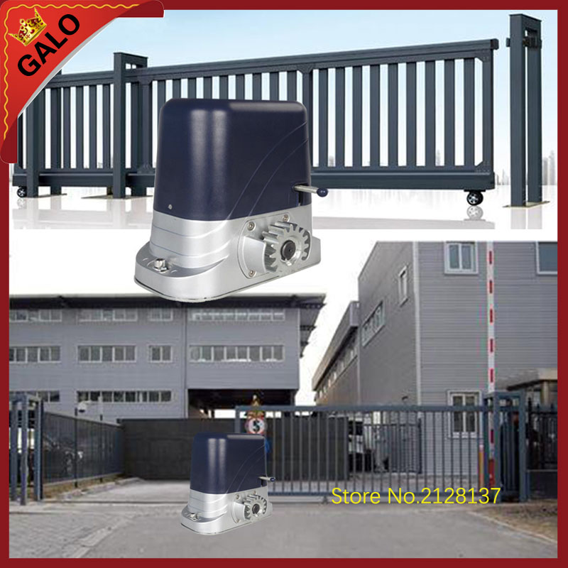 GALO sliding gate operator and sliding gate opener for home automation villa front door 500-1200kg motor have Antifreeze oil