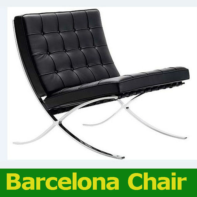 Clic Modern Fashion Sofa Barcelona Chair Recliner Chairs Single Synthetic Leather Living Rome Office Furniture