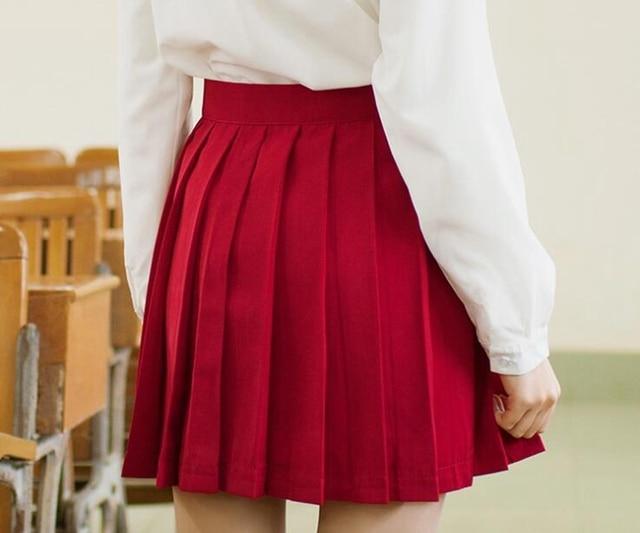 Красные короткие юбки купить