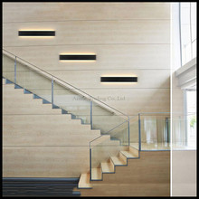 L24/41/51/61/72/91/111cm Black White LED Stairs bedroom living room background lamp lights Bathroom mirror light wall sconces