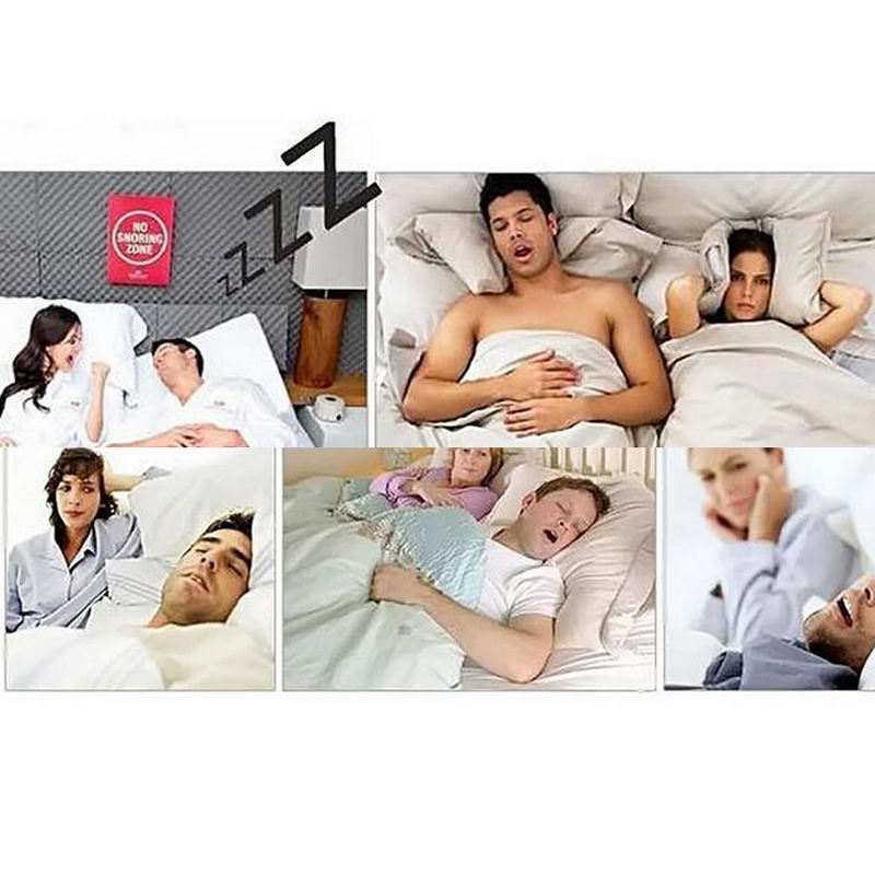 Mayitr 1pc Snore Blocker Stopper Infrared Stop Snoring Wristband Help Sleeplessness For Health Care Tools