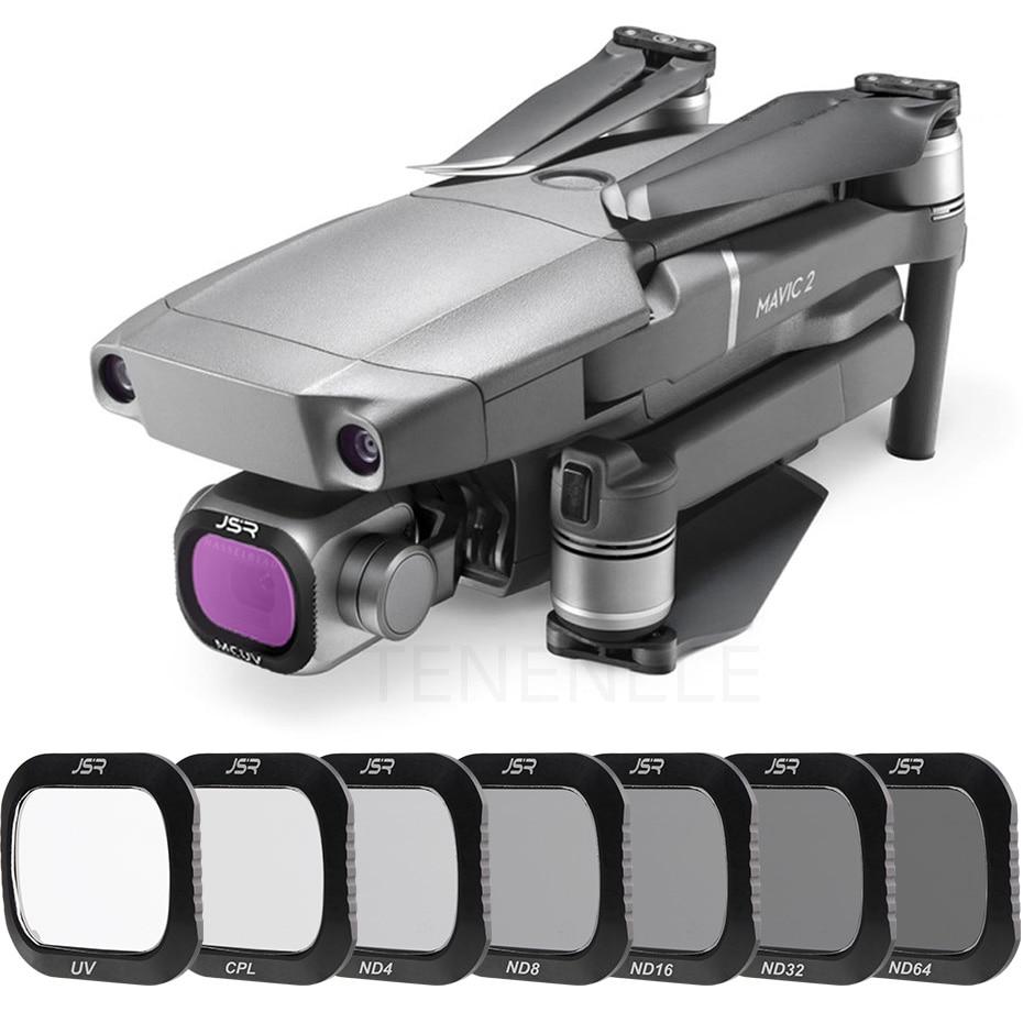 Фильтры для камеры Mavic2 Pro ND/4/8/16/32/64 CPL с УФ-защитой для DJI Mavic 2 Pro/Аксессуары для профессионального дрона