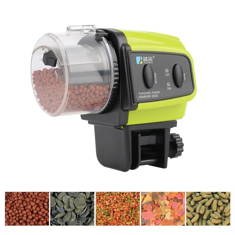 Automatico Dei Pesci Dell'acquario Fish Tank Cibo Dispositivo di Alimentazione LCD Digitale Alimentatore Automatico Tempistica Per Pesce Gamberetti Tartaruga