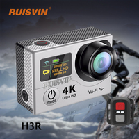 H3R Remote Action Camera Fulll HD 1080P Wifi Sports DV Camera 2 0 Dual Screen Helmet
