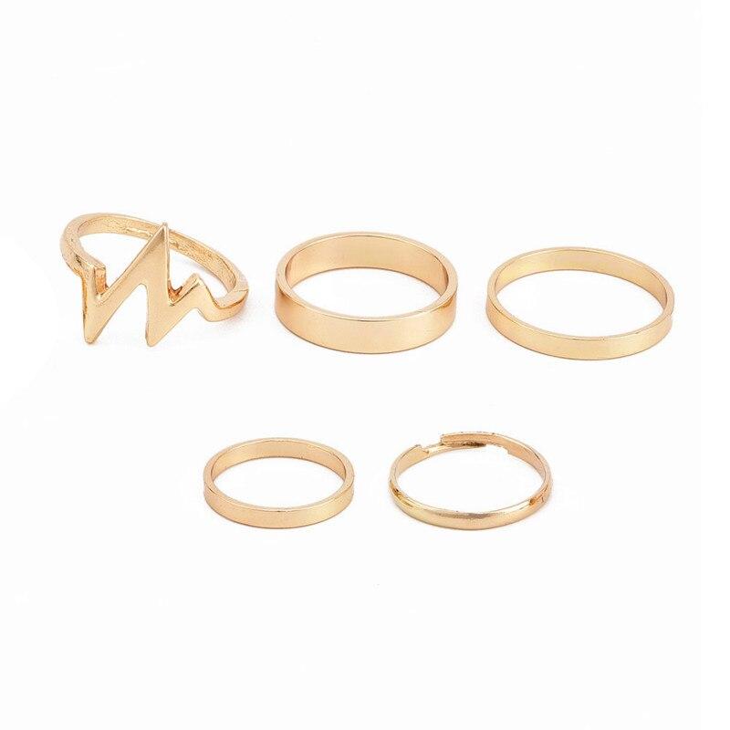 women's ring 5 piece set  5
