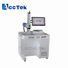 Fiber Laser Etching Aluminum Marker Laser Marking Machine For Sale