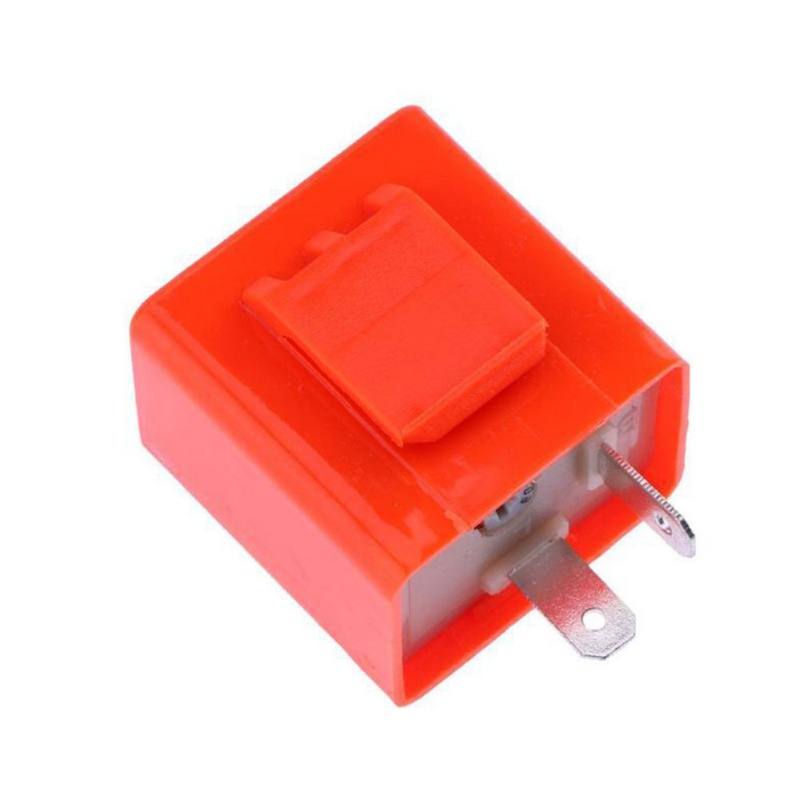 12V 2 Pin Adjustable Frequency LED Flasher Relay Turn Signal Blinker Indicator Motorcycle Accessories