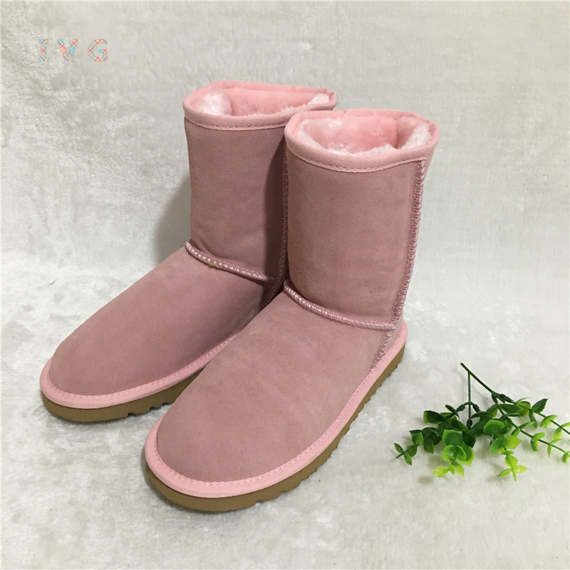 HOT Australian Style Women Unisex Snow Boots Waterproof Winter Leather Boots Brand IVG Outdoor Shoes Size EU35-45