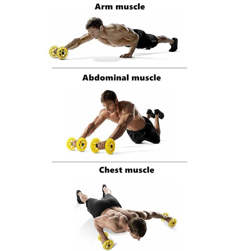 Procircle Ab Roues D'exercice Abdominal Rouleaux Pour Core Trainer D'exercice de Force De Gymnase De Crossfit Corps Fitness Double Roues - 6