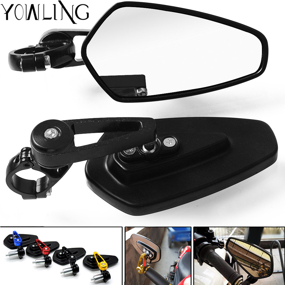 Universal motorcycle Scooter Rearview Mirrors for ktm RC8 / R 1290 Super Duke R/GT 990 SuperDuke 690 Duke 1190 Adventure/R Super цены