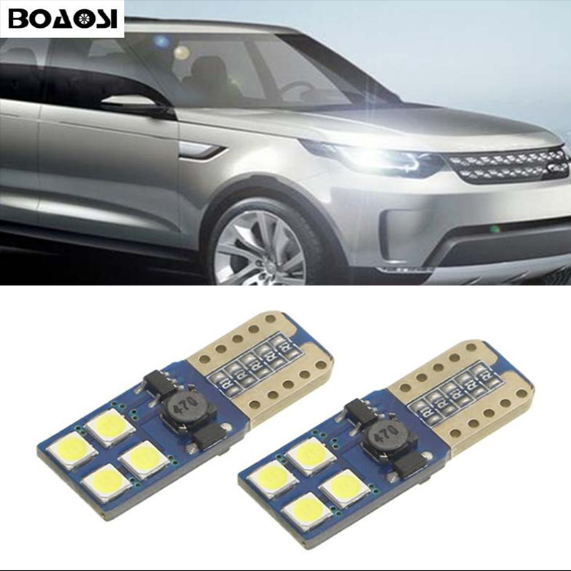 2x T10 W5W LED Eyebrow Eyelid Light Sidelight No Error For Land Rover v8 discovery 4 2 3 x8 freelander 2 defender A8 a9