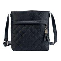 Hot Sale Tassel Women Bag Leather Handbags Cross Body Shoulder Bags Fashion Messenger Bag Women Handbag