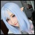 Un Par De Látex De Halloween Fairy Pixie Elf Ears Accesorios Cosplay LARP Fiesta de Halloween Látex Suave Apuntado Consejos Prótesis de Oído