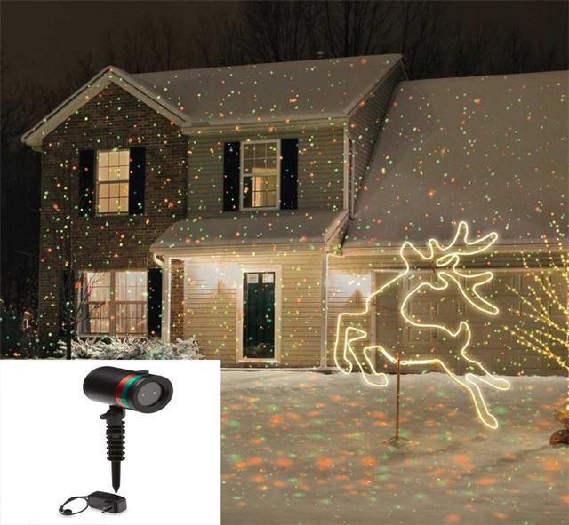 Outdoor Star Laser Spotlight Light Christmas Lights Landscape Park Garden Party Decorations