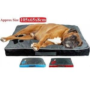Image 4 - Łóżka dla psów duże psy domowa Sofa hodowla kwadratowa poduszka Husky Labrador Teddy duże psy dom dla kotów łóżka maty