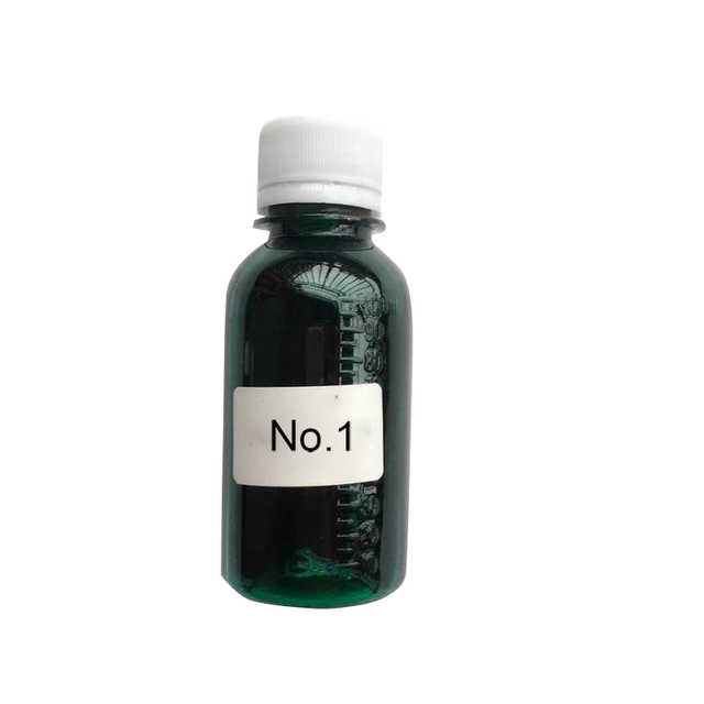 01 verde oscuro epoxi Color Gel epoxie doming resina AB colorante ...