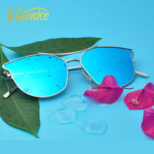 Viewnice New Cateye Sunglasses Women Polarized Brand 2018Mirror Gafas De Sol Polarized Lens Women's Driving Ladies Glasses 0756