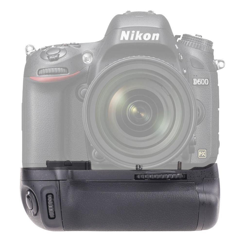 Verticale Batterie support de prise en main Pour Nikon D600 D610 DSLR Caméra MB-D14 à Double section volet, boutons de fonction et roue de cadran