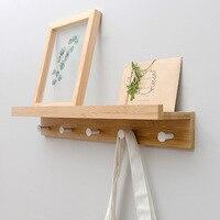 simple and modern design Hanger coat hat rack hook,living room decoration, bathroom shelf storage rack 5 hooks home furniture