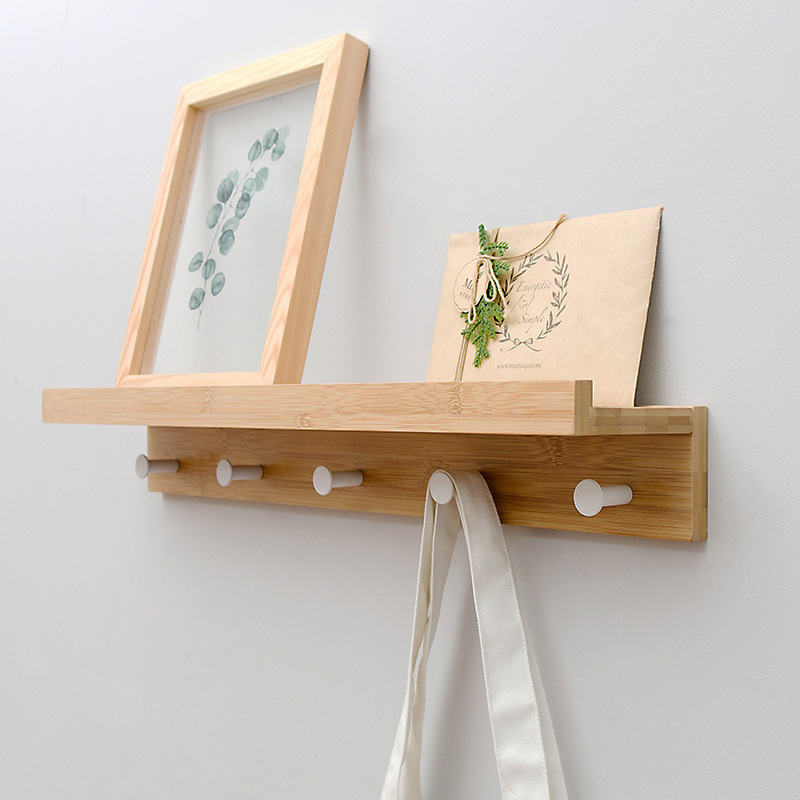 simple and modern design Hanger coat hat rack hook,living room decoration, bathroom shelf storage rack 5 hooks home furniture lanskaya 2018 perchero de ropa modern bamboo floor clothes tree bag hat rack coat hanger furniture bedroom hook hanging hooks