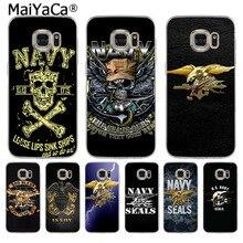 MaiYaCa Navy Seals Logo  Cute Soft Phone Case for Samsung S5 S6 S7 Edge S8 Plus S6 Edge Plus S9 S9 Plus