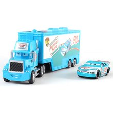 Disney Pixar Cars 2 39 Style Toys Lightning McQueen Jackson Storm Cruz Mack Truck 1:55 Diecast Model Cars 3 Toys Gifts For Child(China)
