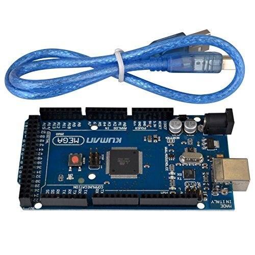 Miroad Mega 2560 R3 Board AtMega 2560 16au Atmega16u2 USB Cable Robot for font b Arduino
