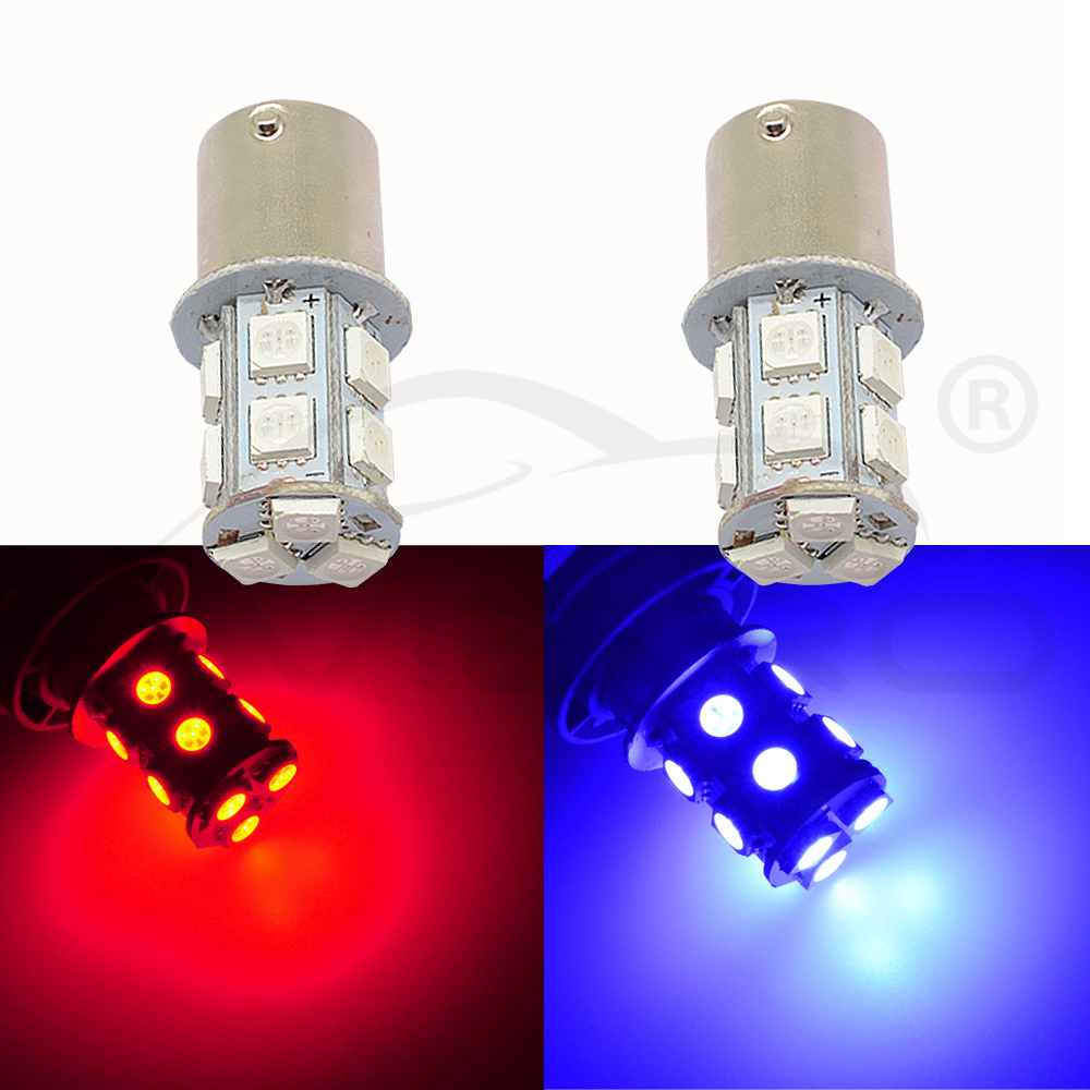 Image 5 - 10X 1156 BA15S 1157 BAY15D P21 5W BA15D 13Led 5050 Auto Led Turn Signal Lights Brake Tail Lamps Auto Rear Reverse Bulbs DC 12V-in LED Bulbs & Tubes from Lights & Lighting