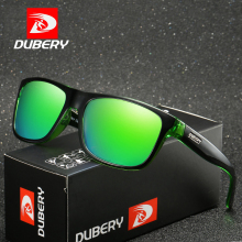 DUBERY Brand Design Square Polarized Sunglasses Men Driving Shades Male Sun Glasses For Summer Mirror Oculos D182