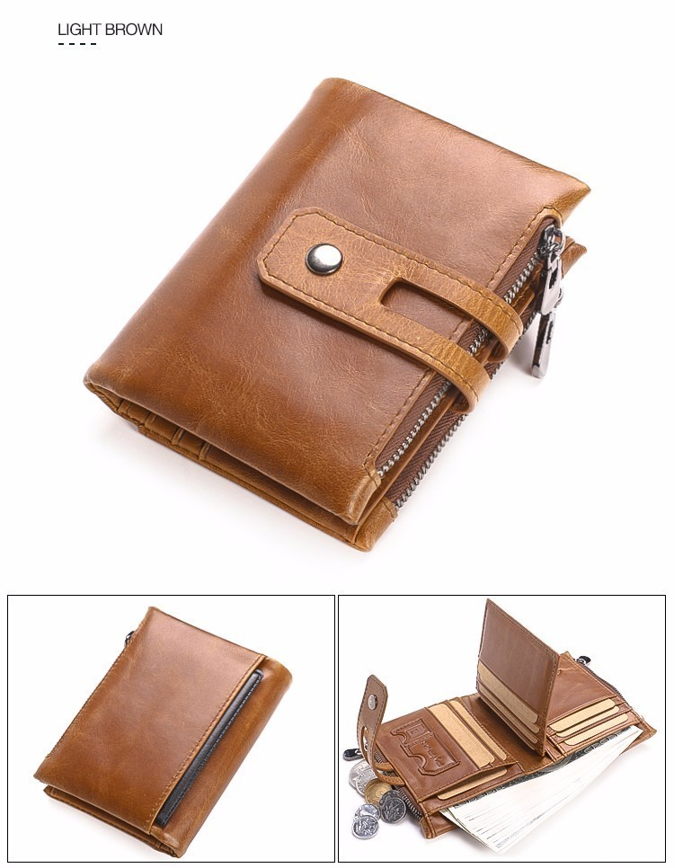 7d976256e35f US $13.6 45% OFF bestselling Wallet Men Wallets Genuine Leather Purse  Luxury Designer Men Purse Card Holder Bifold Short Purse Clutch Coin  Pocket-in ...