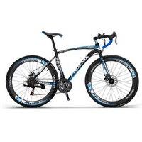 tb808/Disc brake road bike / spokes wheel / road car 21 speed bend the car sports car/Aluminum alloy foot pedal