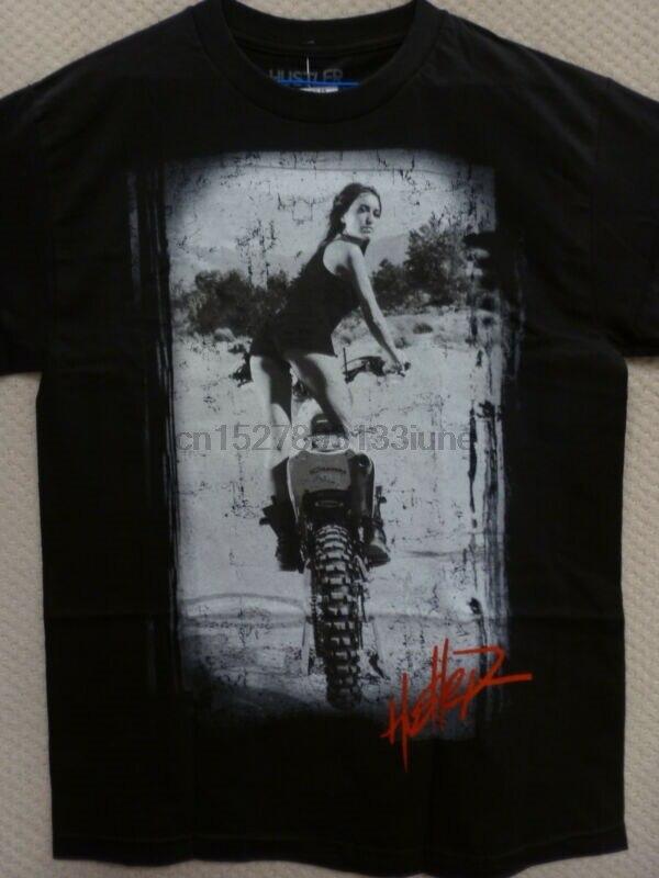 "Hustler Men/'s T-Shirt /""BMX Babes/"" White Size S to L"