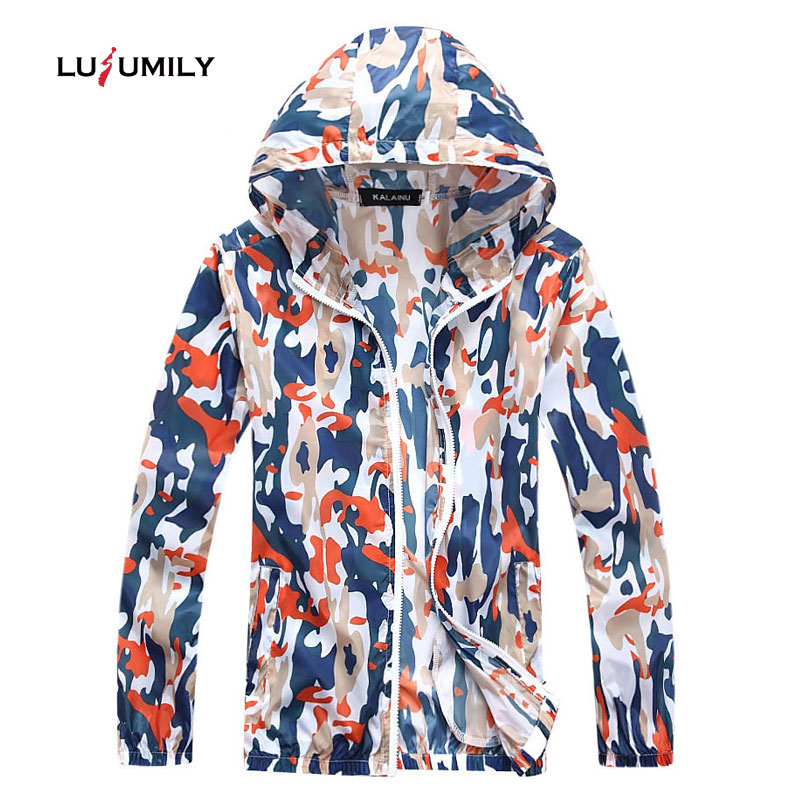 Lusumily Plus Size 4xl Windbreaker   Jacket   Women Camouflage   Jacket   Women's Coat Female Thin Casual Outwear   Basic     Jackets   Femme