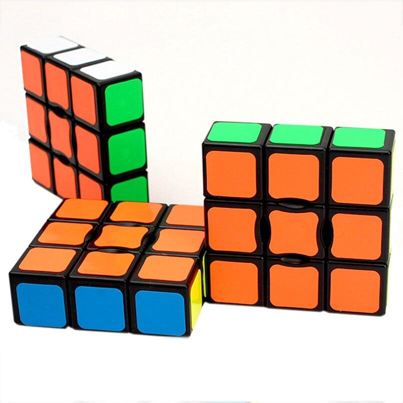 Sammeln & Seltenes Zielsetzung 1x3x3 Zauberwürfel Professionelle Magie Cube Puzzle Magic Platz Spielzeug Pädagogisches Geschwindigkeit Cube Gehirn Teaser Zappeln Spielzeug Schrumpffrei Rätsel & Spiele