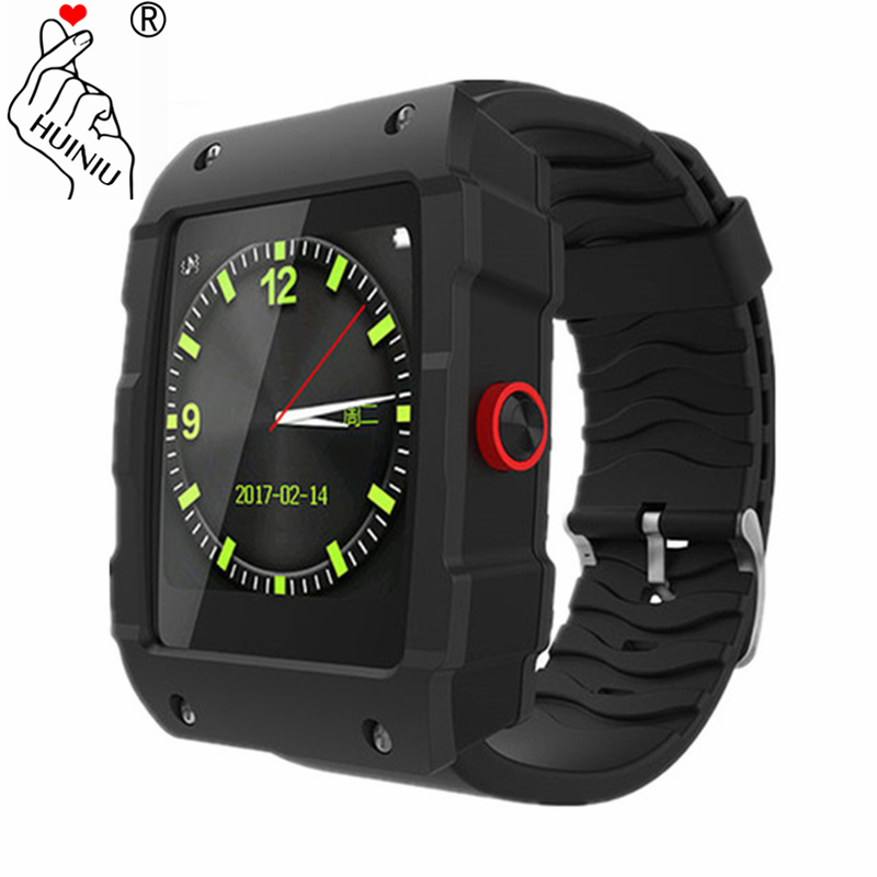 HUINIU V18 GPS Smartwatch Fitness Tracker Sleep Monitor Message Reminder Answer Call Pedometer Smart Watch for IOS and Android leegoal bluetooth smart watch heart rate monitor reminder passometer sleep fitness tracker wrist smartwatch for ios android