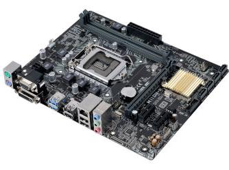 H110M-K DDR4 LGA1151 all solid-state computer motherboard ...