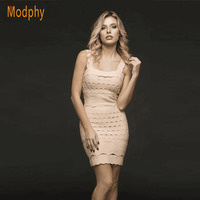 New Women Sexy Patchwork Ruffles Strapless Mini Winter Dress Celebrity Party Spaghetti Strap Bandage Dress Dropshipping