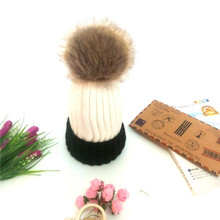 Winter Hats For Women Skullies Beanies Caps Manmade Fur pompon Hat Girls Cardigan Warm Gravity Fall Hat gorros mujer invierno brand new gorros invierno winter hat fashion knit crochet beanies raccoon cap hats for women warm hat gorros 2016 gift 1pc