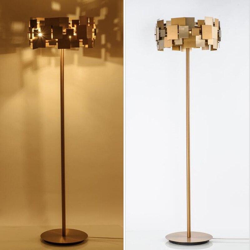aliexpress : fumat gold edelstahl boden lampen moderne kunst, Wohnzimmer