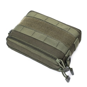 Outdoor 1000D Bag Military Molle Utility EDC Tool Waist Pack Tactical Medical First Aid Pouch Phone Holder Case Hunting Bag|Hunting Bags| |  -